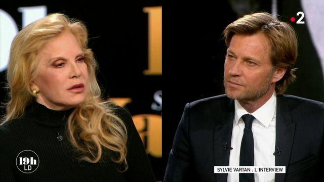 """VIDEO. """"19h le dimanche"""". Sylvie Vartan s'exprime en exclusivité sur la polémique autour du testament de Johnny Hallyday"""