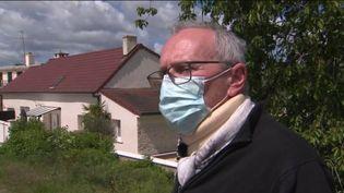 Jean-Claude Girard, maire d'Ouges, commune située prèsde Dijon (Côte-d'Or), a été agressé dimanche 23 mai. (CAPTURE ECRAN FRANCE 3)