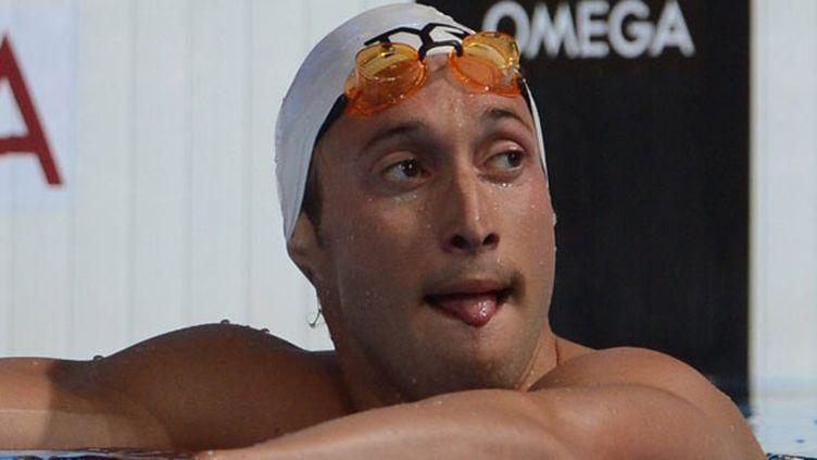 Le nageur français Fabien Gilot