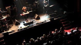 Le Printemps de Bourges ouvre la saison des festivals. Ici la chanteuse Nach (Anna Chedid) le 27 avril.  (GUILLAUME SOUVANT / AFP)