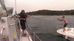 Vacances d'été : vague de contrôle pour les bateaux et les activités nautiques en Méditerranée (FRANCE 2)