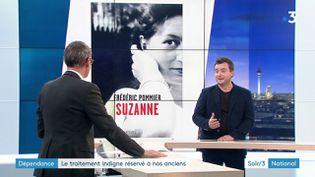 Frédéric Pommier et son livre (France 3)