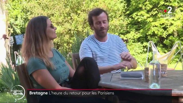 Déconfinement : les Parisiens confinés en Bretagne hésitent à revenir