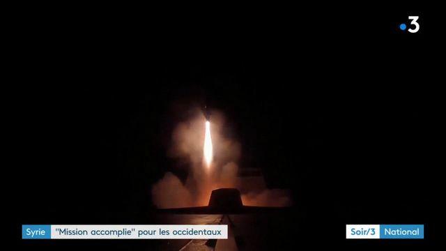 """Syrie : """"Mission accomplie pour les Occidentaux"""""""