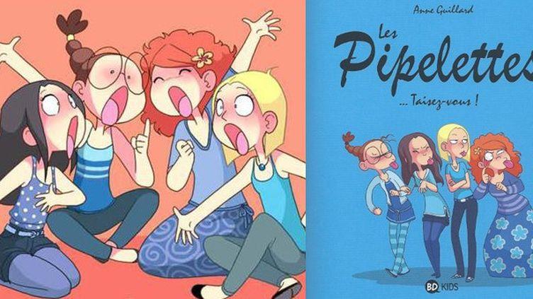 Albums de la série Les Pipelettes  (Anne Gaillard / Milan)