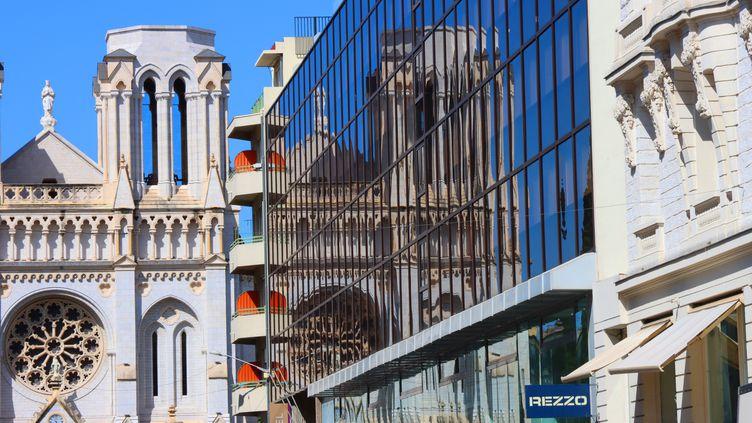 La basilique Notre-Dame de l'Assomption, à Nice, le 17 juin 2020. (MAXPPP)