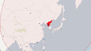 CARTE. Où sont situés les militaires américains à portée de la Corée du Nord (NICOLAS ENAULT)