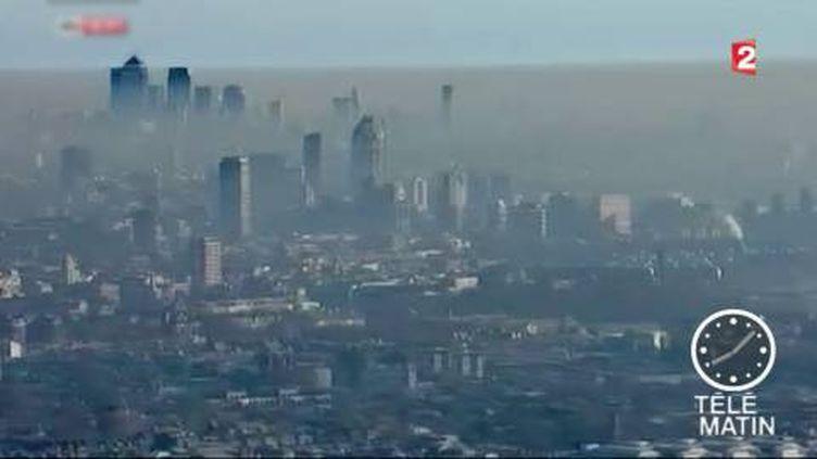 Londres lance un plan de lutte contre la pollution. (FRANCE 2)