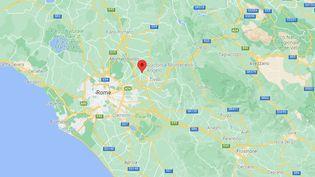 L'homme, un Albanais âgé de 30 ans,vivait àGuidonia Montecelioprès deRome. (GOOGLE MAPS)