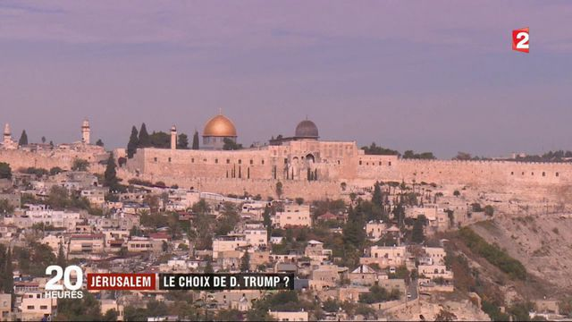 Ambassade américaine à Jérusalem : le risque d'un regain de tensions
