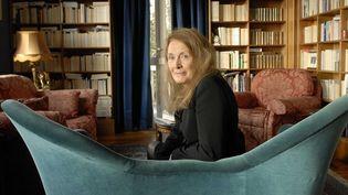 Annie Ernaux dans sa maison de Cergy  (ANDERSEN ULF/SIPA)