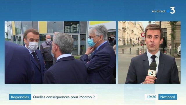 Élections régionales : après les mauvais résultats de LREM, quelles conséquences pour Emmanuel Macron ?