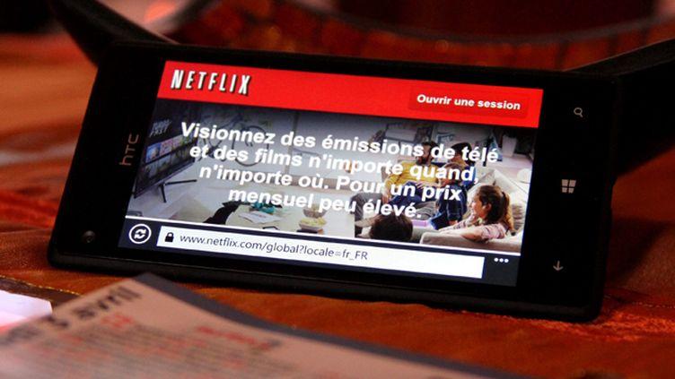 "(Netflix arrivera en France ""fin 2014""© Maxppp)"