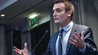 Florian Philippot, vice-président du FN, le 2 décembre 2016 à Paris. (YANN KORBI / CITIZENSIDE / AFP)