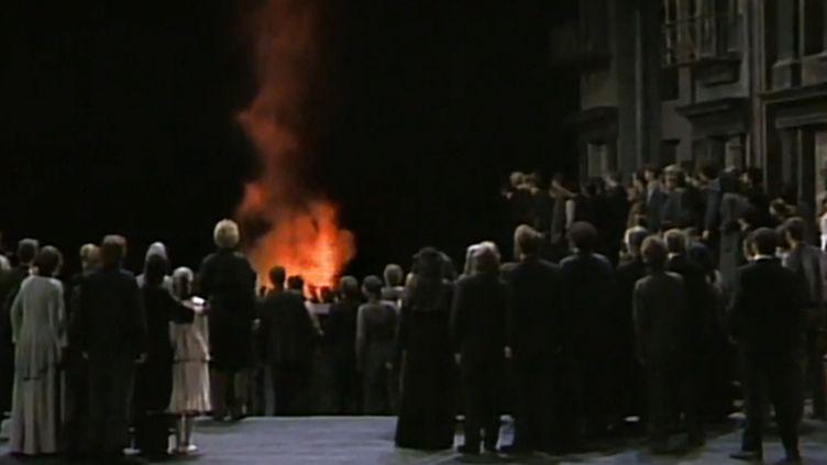 Le Ring de Wagner par Patrice Chéreau  (DR)