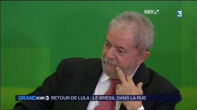 Brésil : colère et indignation contre Rousseff et Lula, accusés de corruption