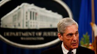 L'ancien procureur spécialRobert Mueller, le 29 mai 2019, à Washington (Etats-Unis). (TING SHEN / AFP)