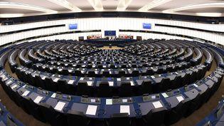Le Parlement européen de Strasbourg, le 5 février 2018. (FREDERICK FLORIN / AFP)