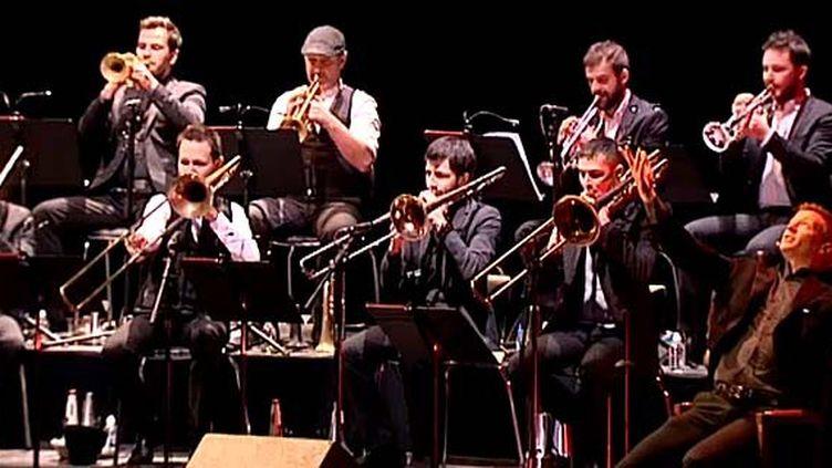 """Un acteur et un orchestre de jazz revisitent """"Le carnaval des animaux""""  (Capture d'écran France 3/Culturebox)"""