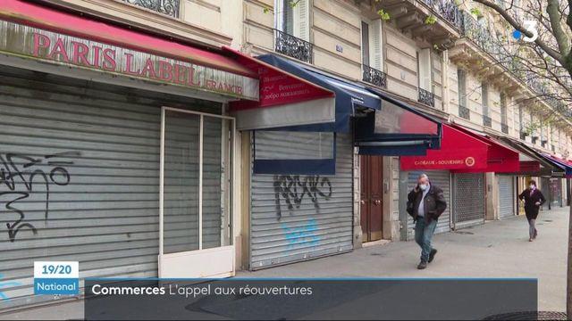 Déconfinement : l'appel à la réouverture des commerçants