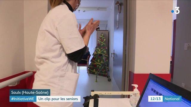 Noël : un clip tourné dans un Ehpad pour garder un lien avec l'extérieur
