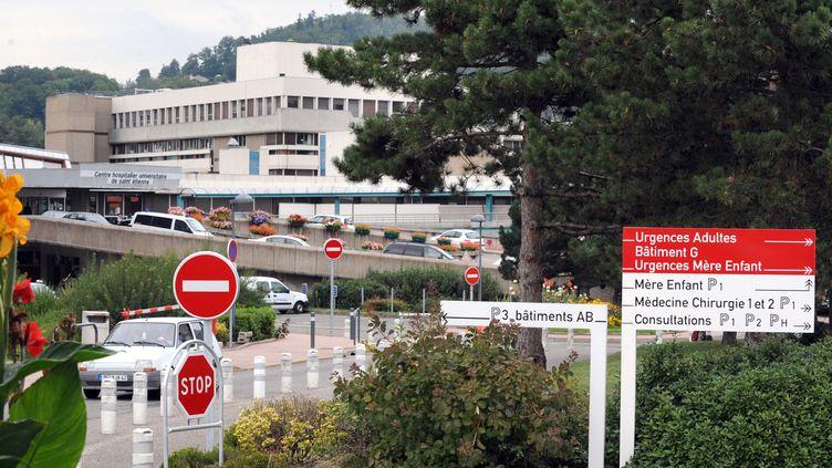 Le CHU de Saint-Étienne (Loire), en septembre 2009. (PHILIPPE MERLE / AFP)