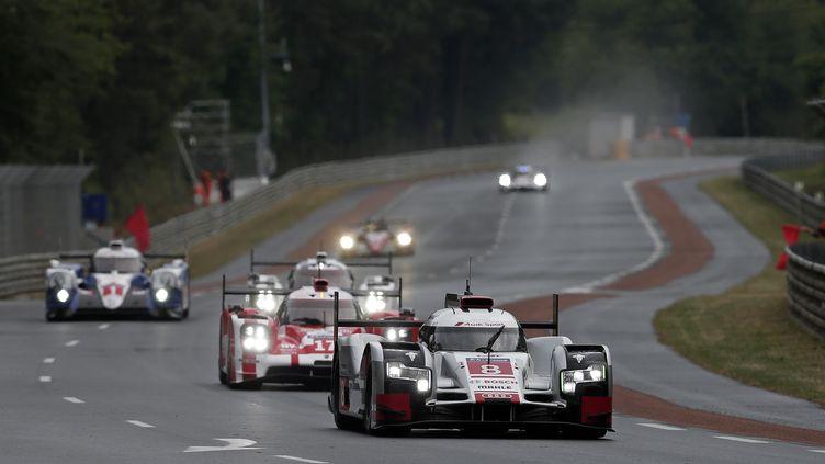Audi et Toyota n'ont pas lutté pour la pole position face aux Porsche (JEAN MICHEL LE MEUR / DPPI MEDIA;JEAN MICHEL LE MEUR)