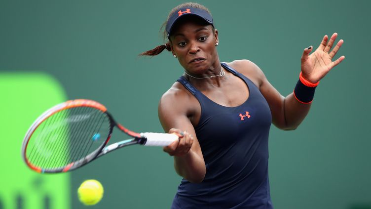 La joueuse américaine Sloane Stephens (CLIVE BRUNSKILL / GETTY IMAGES NORTH AMERICA)
