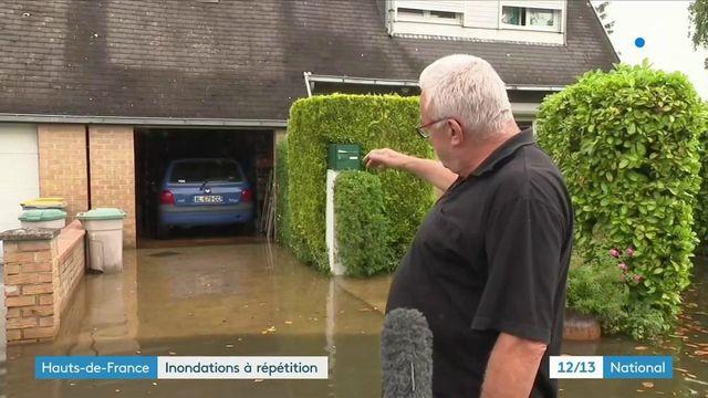 Orages : les inondations touchent le Pas-de-Calais et la Somme