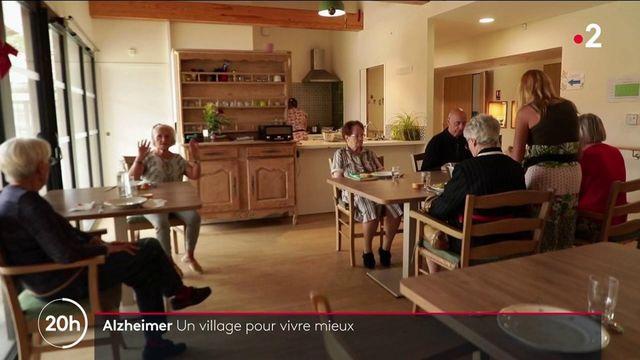 Landes : un village conçu pour accueillir des malades d'Alzheimer