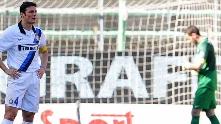 Javier Zanetti perplexe (SIMONE FERRARO / AFP)