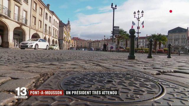 Meurthe-et-Moselle : le président très attendu à Pont-à-Mousson