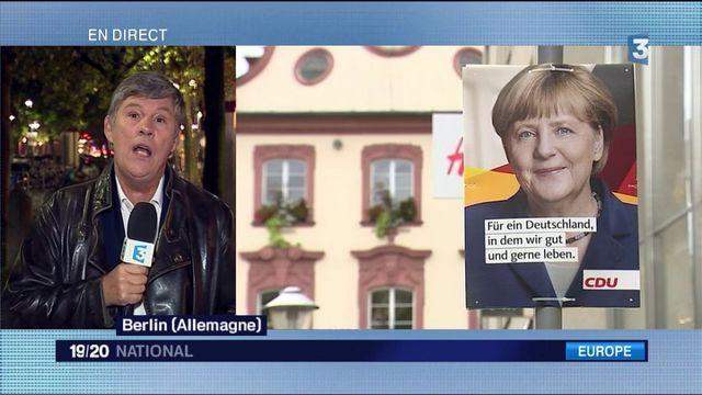 Elections en Allemagne : Angela Merkel grande favorite