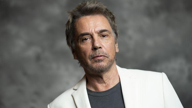 Le musicien Jean-Michel Jarre, le 23 avril 2018, à Los Angeles. (VALERIE MACON / AFP)