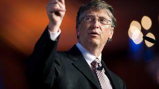 Bill Gates, le 6 avril 2011 à Berlin (Allemagne). (KRUPPA/CARO FOTOS/SIPA)