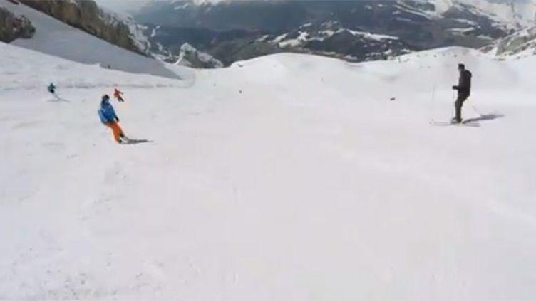 Candide Thovex, le skieur fou, a encore frappé