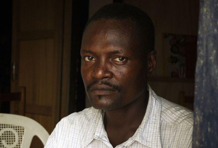 Une victime de la répression menée sous le règme de Hissène Habré. Nadjingaye Toura Ngaba a été arrêté et torturé alors qu'il n'avait que 16 ans. (Photo Reuters/ Stéphanie Hancoc)