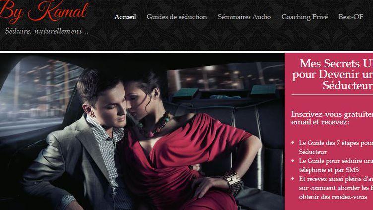 Capture d'écran du site Seduction by Kamal, qui suggère des pratiques brutales sans l'accord de la partenaire. Il a été signalé à la justice le 5 septembre 2013. (SEDUCTION BY KAMAL)