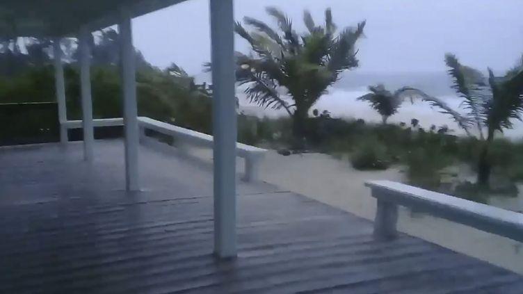 L'ouragan Dorian passe sur les Bahamas, le 1er septembre 2019 (RICH ROBERTS / RICH ROBERTS AFP)