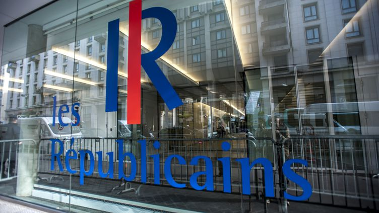 Le siège des Républicains, ex-UMP, à Paris, le 1er juin 2015. (YANN KORBI / CITIZENSIDE.COM / AFP)