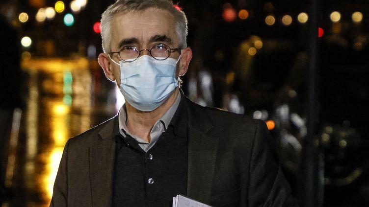 Yves Veyrier, le secrétaire général de Force Ouvrière, en octobre 2020. (LUDOVIC MARIN / POOL)