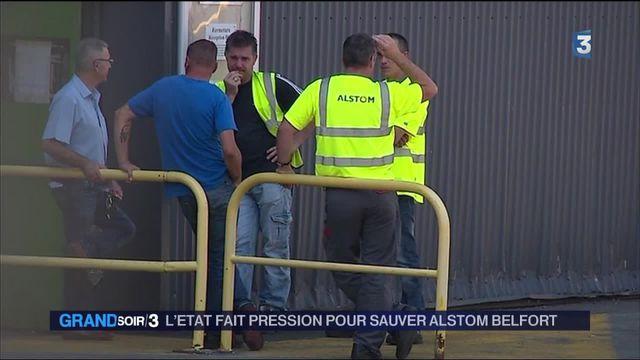 Alstom : la pression de l'État pour sauver l'usine de Belfort