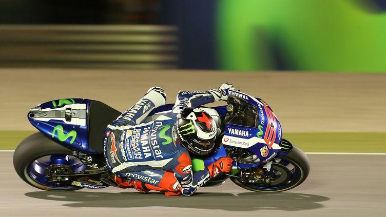 Jorge Lorenzo (Yamaha)   (KARIM JAAFAR / AFP)