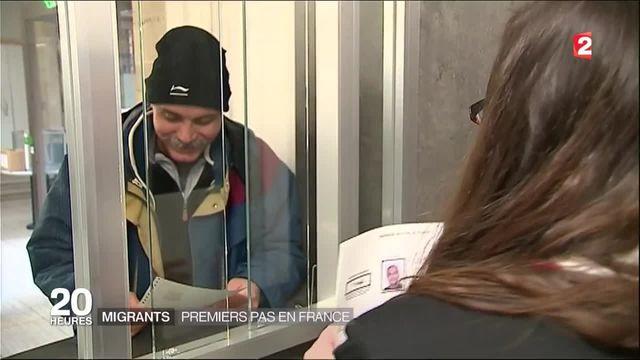 Migrants : premiers pas en France
