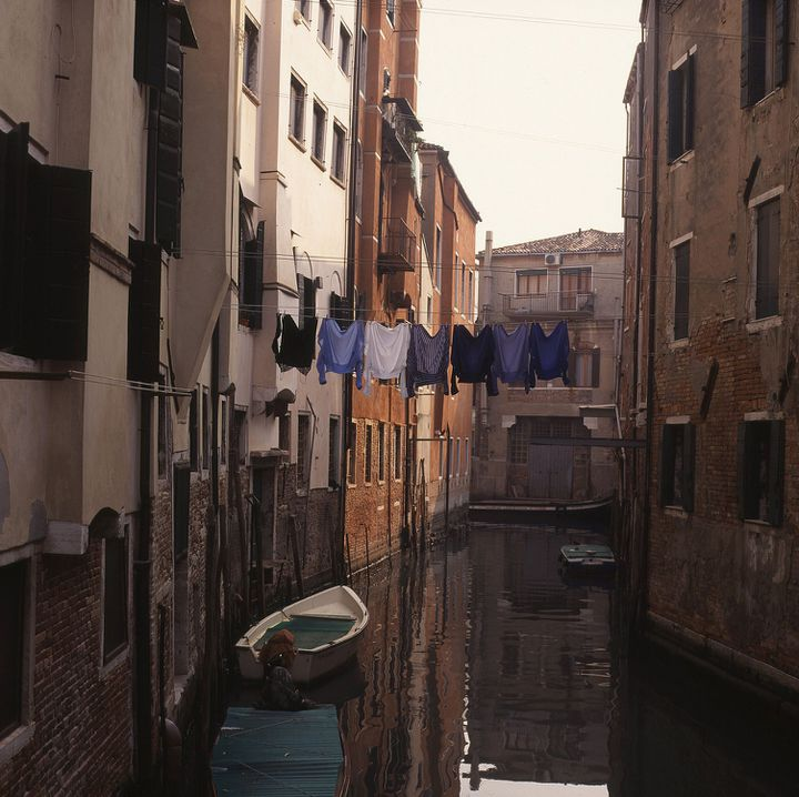 Le ghetto de Venise a conservé son atmosphère particulière.  (Stephanie Colasanti / The Art Archive / The Picture Desk / AFP)