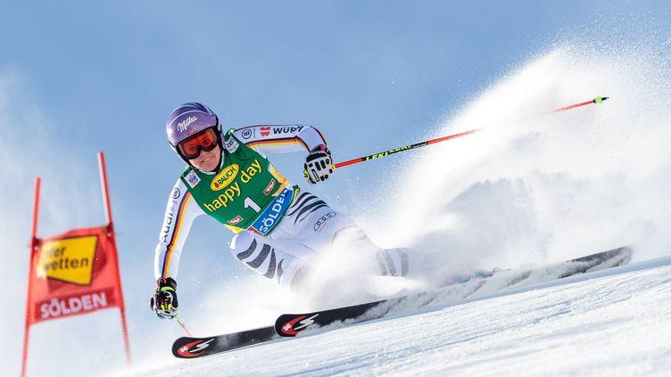 La skieuse allemande et spécialiste du slalom géant, Viktoria Rebensburg, ici à Sölden.