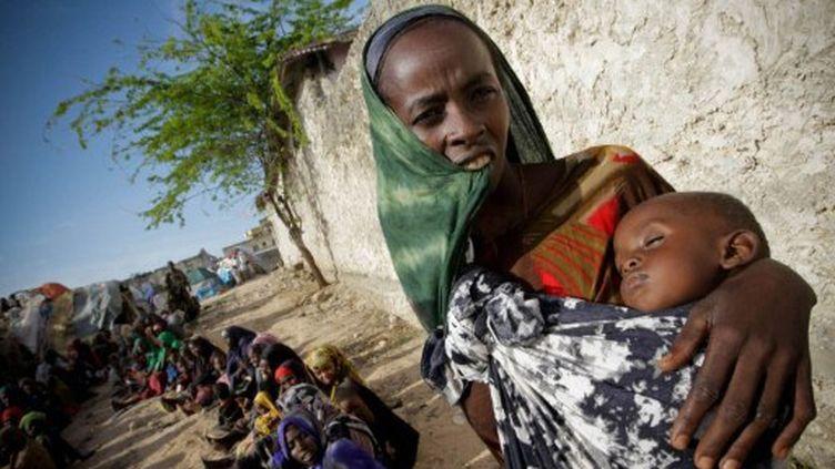 Quelque 250.000 enfants souffrent de malnutrition sévère en Somalie (AFP PHOTO/ AU-UN IST PHOTO / STUART PRICE)