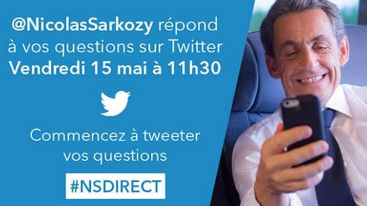 (Nicolas Sarkozy a répondu aux questions des internautes © capture d'écran)