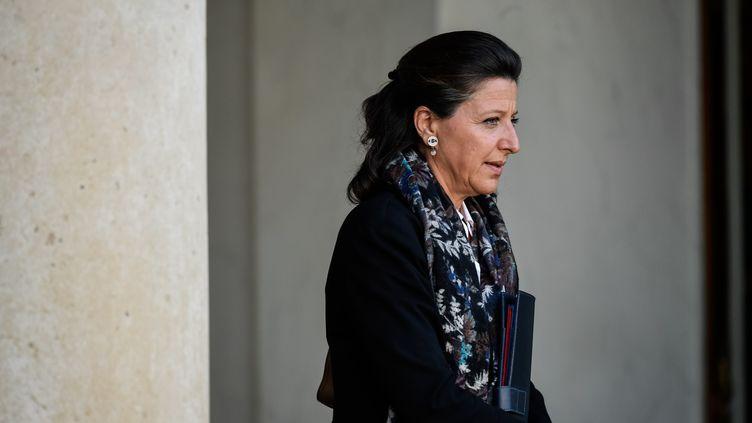 La ministre de la Santé, Agnès Buzyn, quitte l'Elysée, le 14 septembre 2017. (JULIEN MATTIA / NURPHOTO)