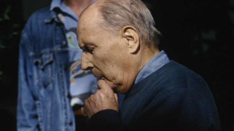 François Mitterrand le 10 novembre 1994. (PATRICK ROBERT - CORBIS / SYGMA)